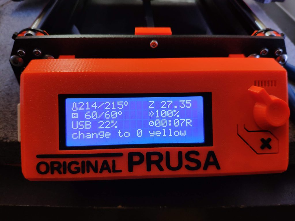 Prusa i3 MK3: Real Multicolour prints without MMU - Rainer's